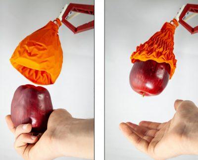 دست رباتیک اریگامی شکل