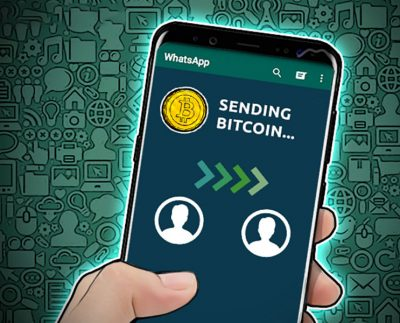 امکان انتقال ارز دیجیتال در واتساپ