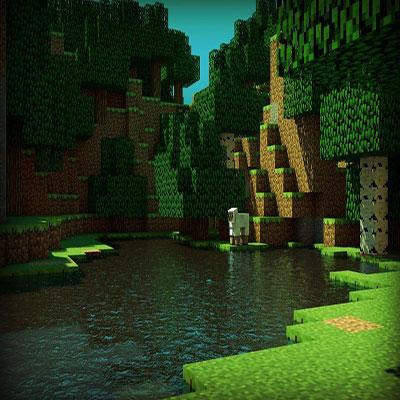 محیط بازی minecraft