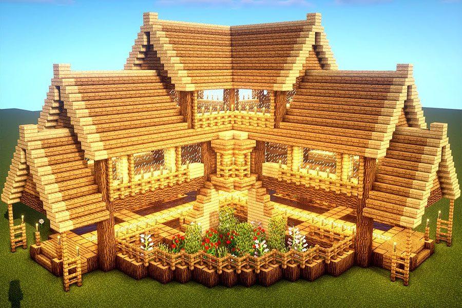 ساختن خانه در ماینکرافت